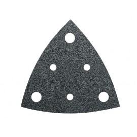 Lot de 35 Feuilles abrasives, zircon - Grain : 80