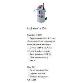 Aspirateur S 200