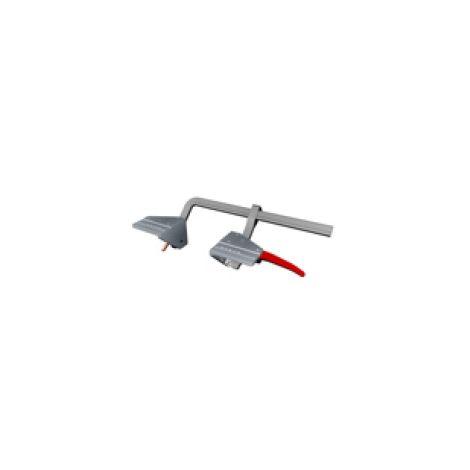 Ensemble de serrage (serre joint et 2 equerres de fixation)