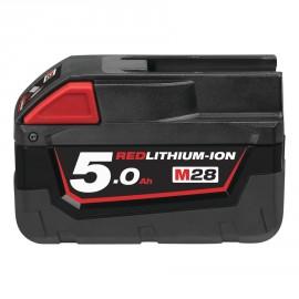 M28 B5* - 28V 5,0Ah Red Lithium, Système M28