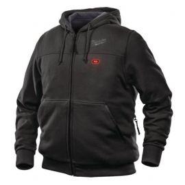 M12HHBL3-0(L) - Sweat à capuche noir Taille L