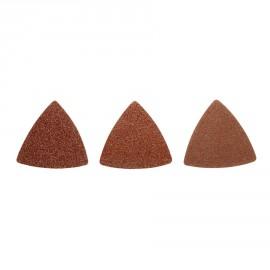 RAK10MT - Kit abrasifs Multitool (10 triangles abrasifs grain 60 / 80 / 120)