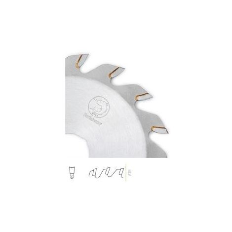 Lame carbure 48Z denture Plate Trapeze - 160 x 2.2 x 1.6 x 48z TP al20