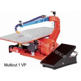 Scie à chantourner Multicut-1 avec variateur électronique au pied