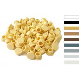 Capuchons de protection clamex,ral 9011, 100pcs
