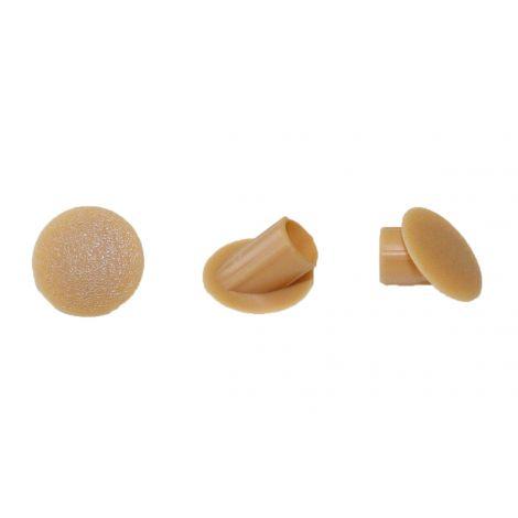 Capuchons de protection 45° clamex, ral1011 - beige brun ,100pcs