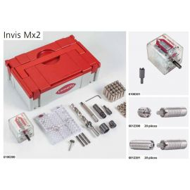 Invis mx2, boulon 30mm, ø12mm , - jeu de 500 pcs