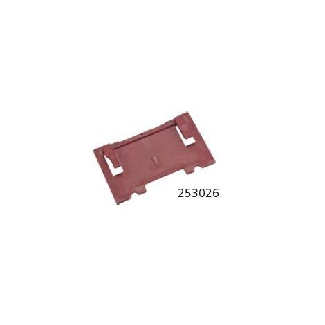 Plaque auxiliaire 4 mm, plastique, zeta, top 21, c