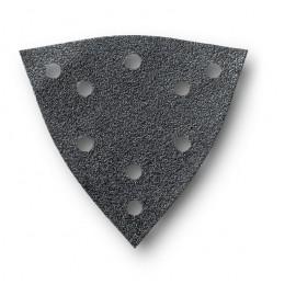 Lot de 16 Feuilles abrasives perforées - Grain : 80