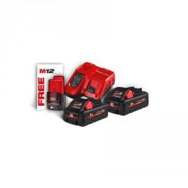 M18 HNRG-302 - Pack NRJ 18V, 3,0 Ah HIGH-OUTPUT Red Li-ion, système M18