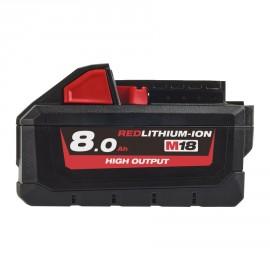 M18 HB8 - 18V 8,0Ah HIGH-OUTPUT Red Lithium - système M18