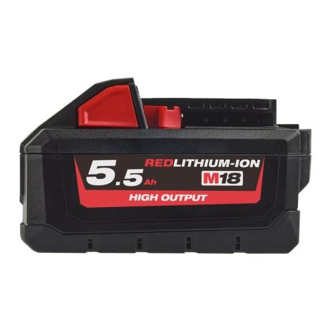 M18 HB55 - 18V 5,5Ah HIGH-OUTPUT Red Lithium - système M18