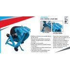 Lot Scie à buche LOSAB601LC + Fendeuse 8T LOFEV082 + Range bûche acier offert